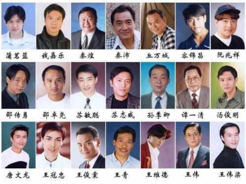 香港男配角_与敌同行演员表 tvb的那些主角与配角们——男演员篇