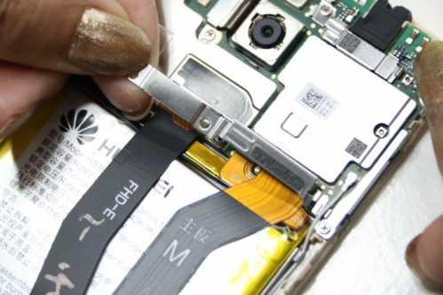 麦芒五手机套磨法 华为麦芒5手机拆机维修与安装机器详细步骤教程