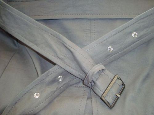 风衣单穿图片 风衣腰带的后系法图解
