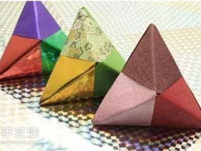 折纸粽子步骤图 端午节纸粽子制作方法
